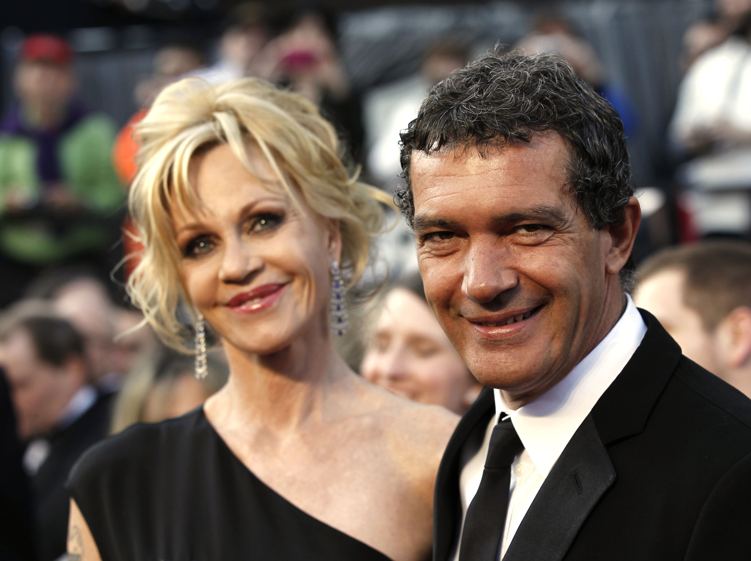 Antonio Banderas couple