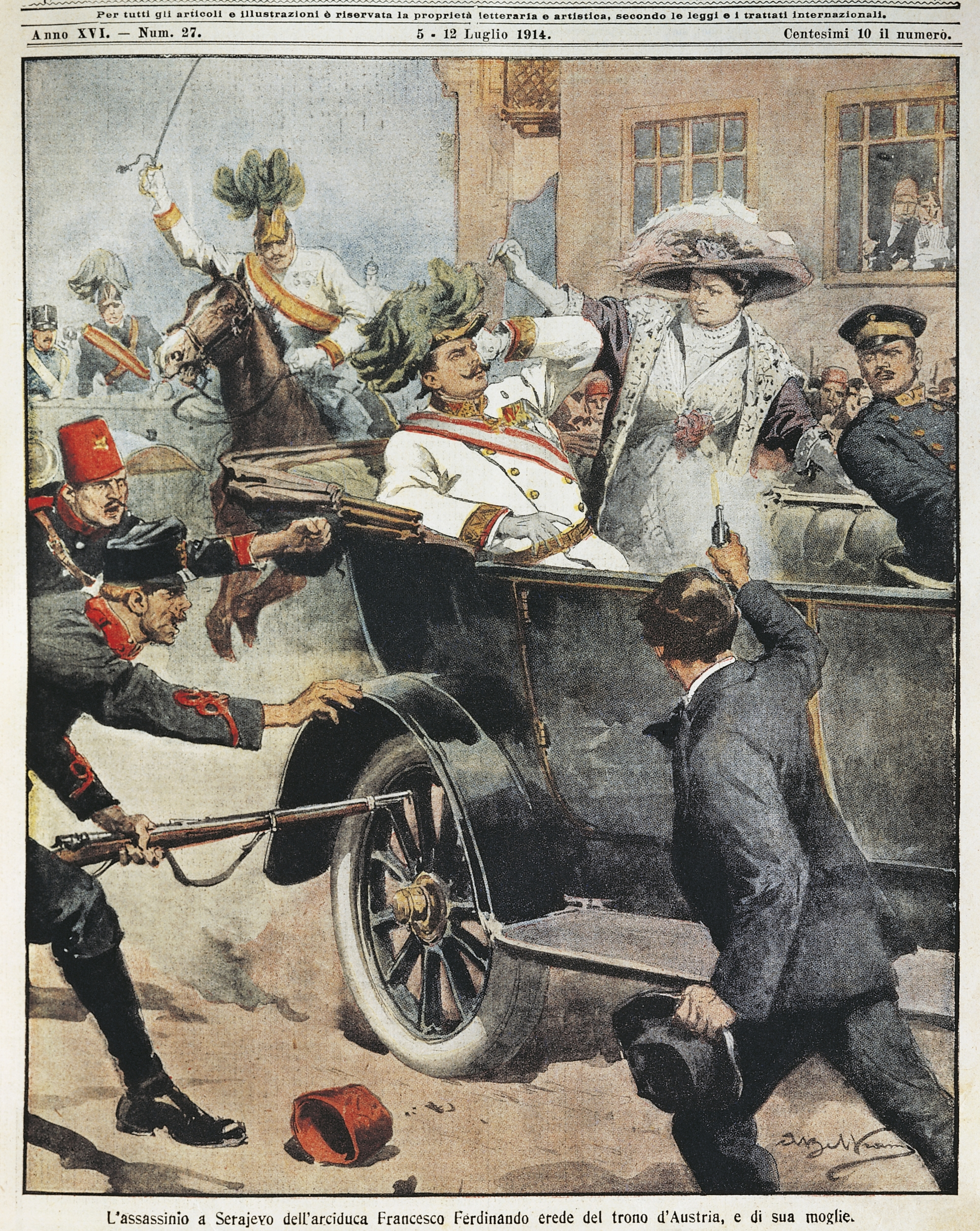 the assassination of franz ferdinand As stated in the introduction to the causes section of this wikibook, the assassination of archduke franz ferdinand of austria was an event which led directly to.