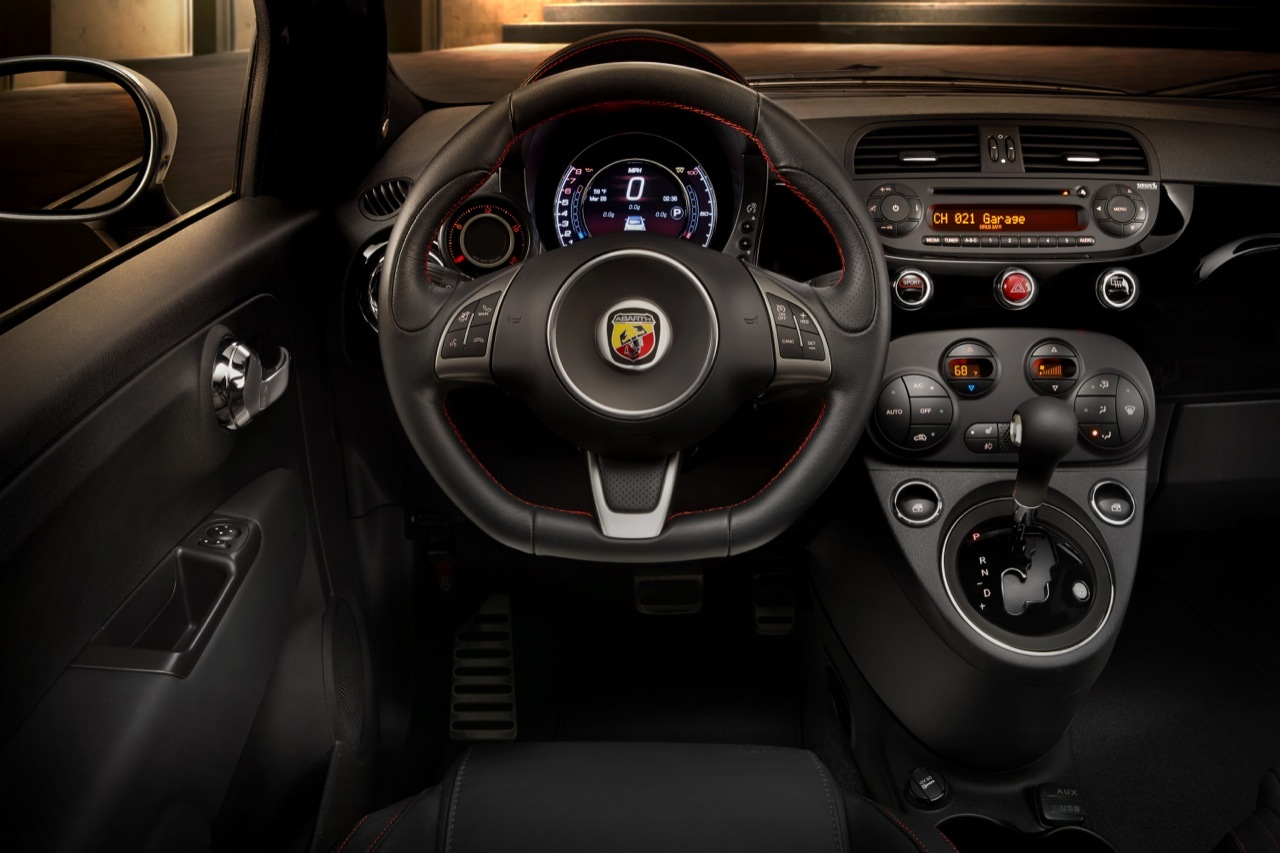 2015 Fiat 500 Abarth Automatic Interior Photo Gallery