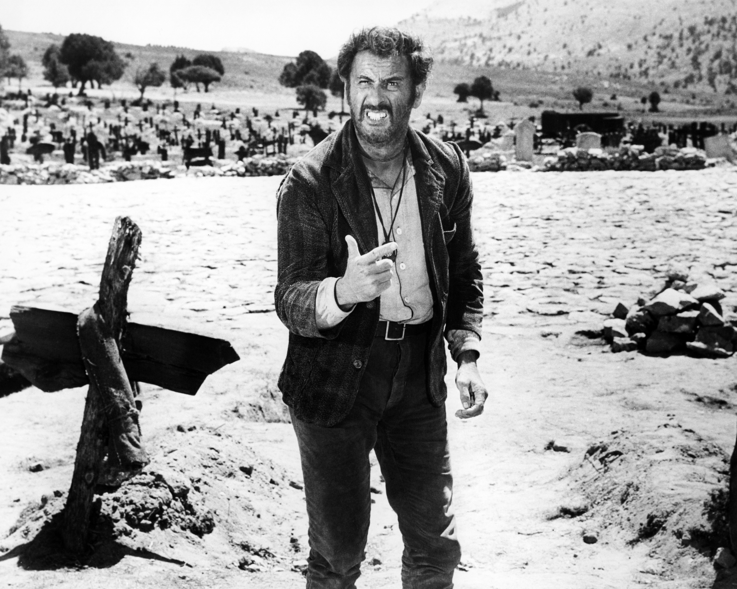 Eli wallach star of 39 the good the bad and the ugly - Mobles tuco ...