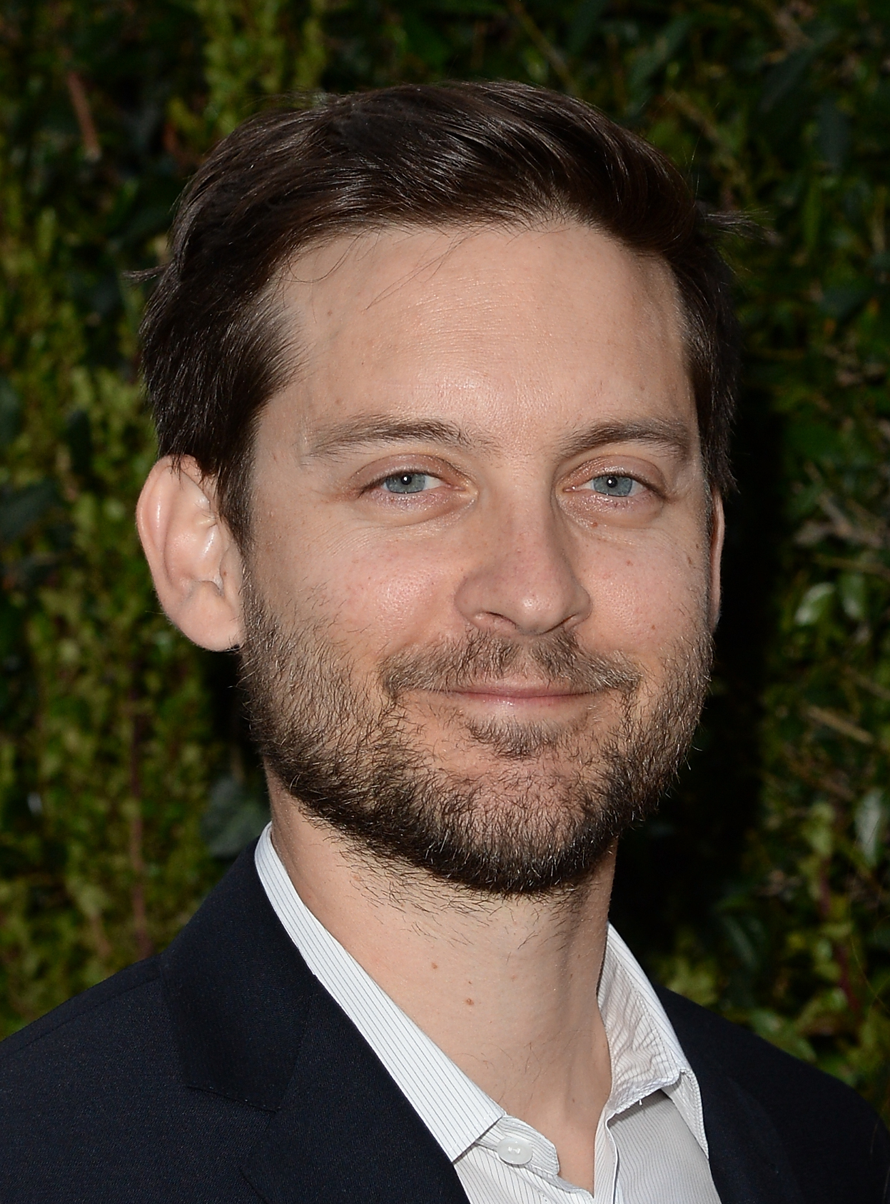 slinger in spider man in 2002 he reprised his role as ... Tobey Maguire Moviefone