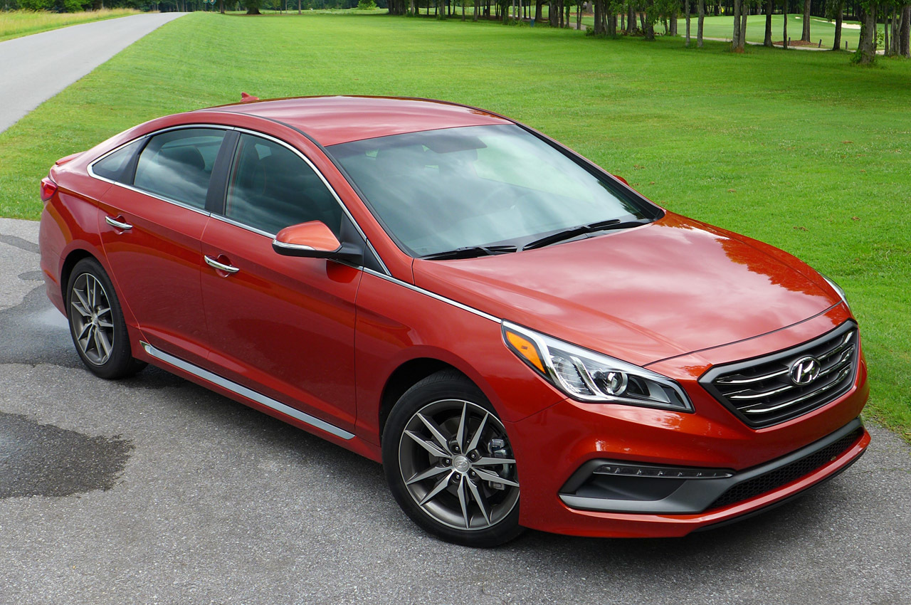 2015 hyundai sonata sport 2 0t first drive photo gallery. Black Bedroom Furniture Sets. Home Design Ideas