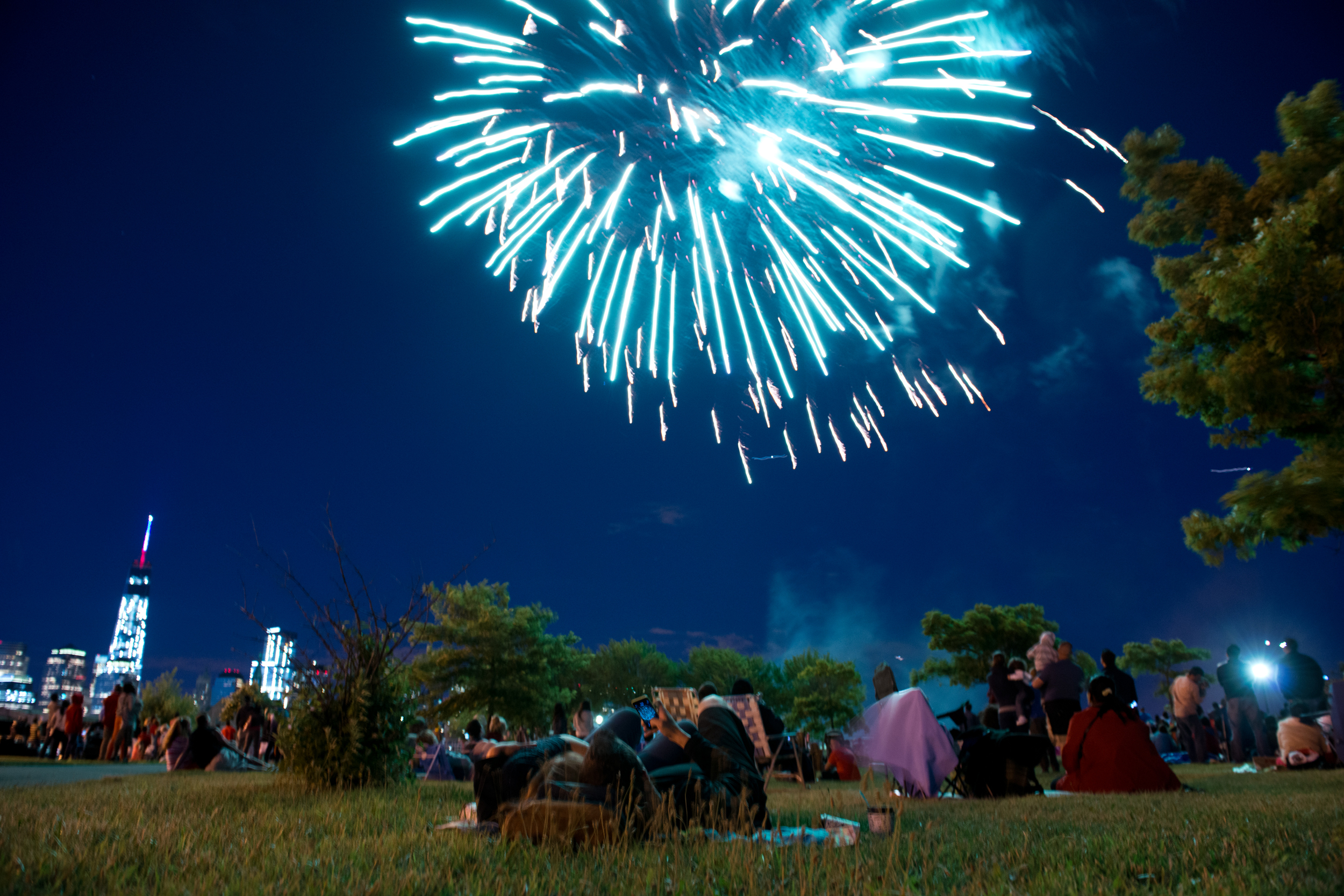 Budweiser Celebrates July 4th With Jersey City's Freedom & Fireworks Festival