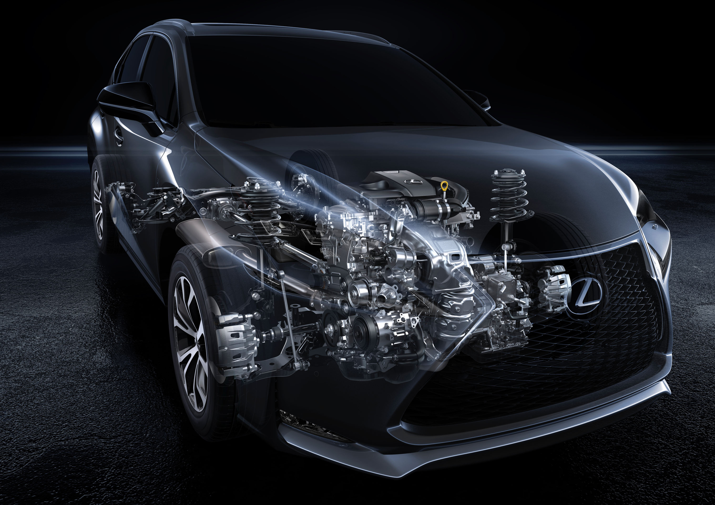 2015 lexus nx 200t turbo engine photo gallery autoblog. Black Bedroom Furniture Sets. Home Design Ideas