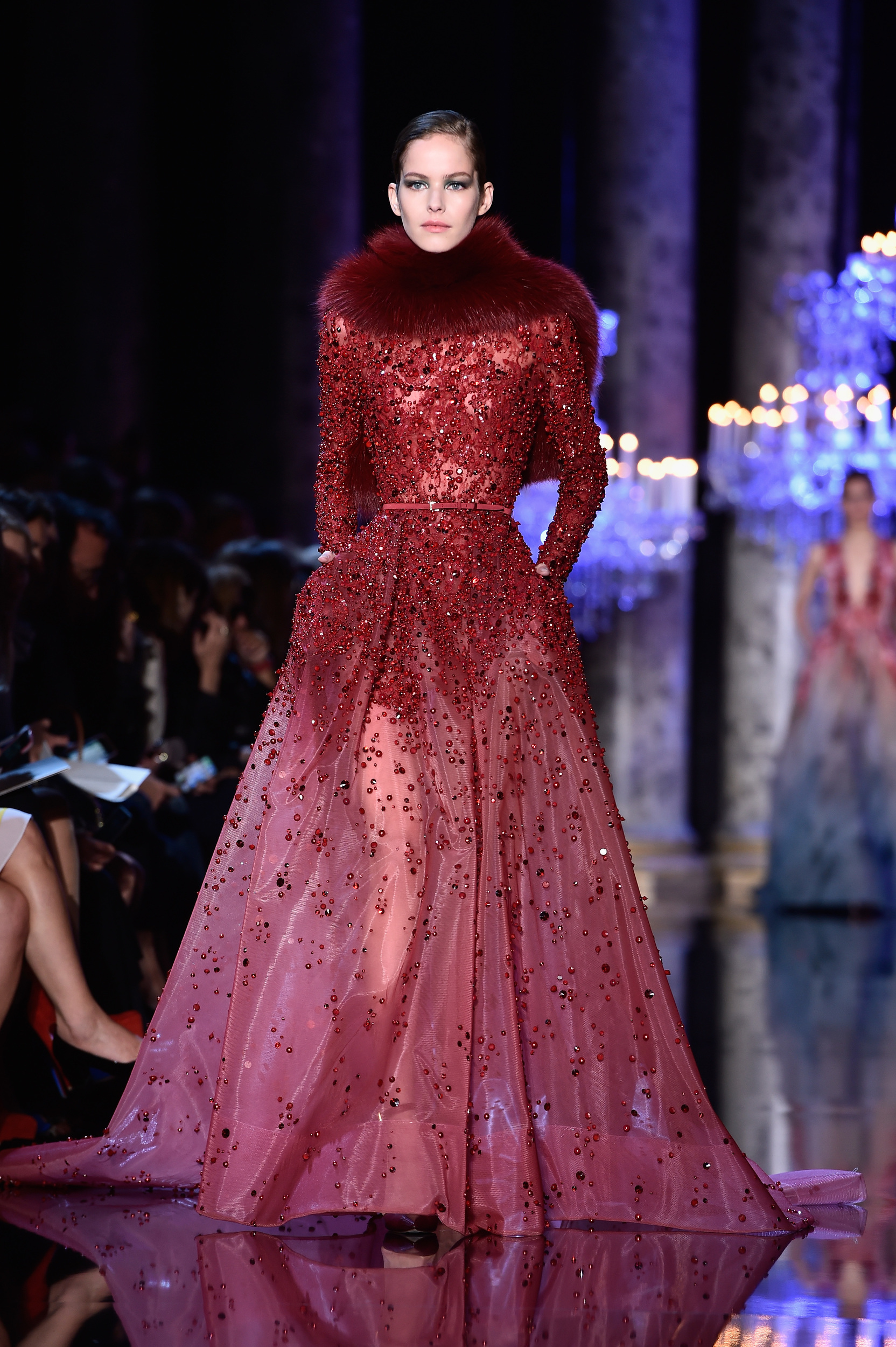 Paris couture week elie saab autumn winter 2014 for Haute couture fashion