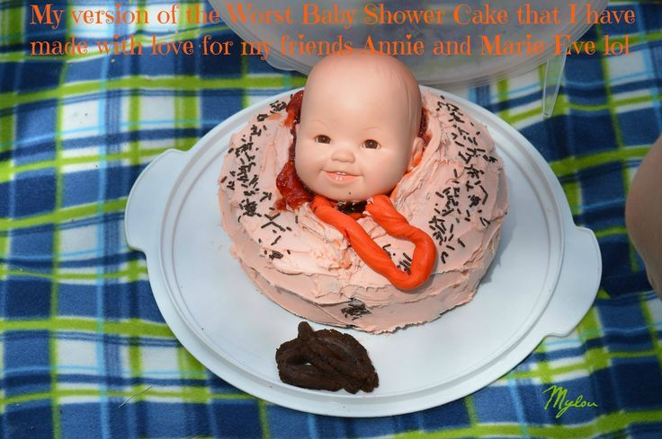 pics photos the worst baby shower cakes ever
