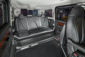 mobility ventures adds luxury model to its lineup of wheelchair accessible vans autoblog. Black Bedroom Furniture Sets. Home Design Ideas