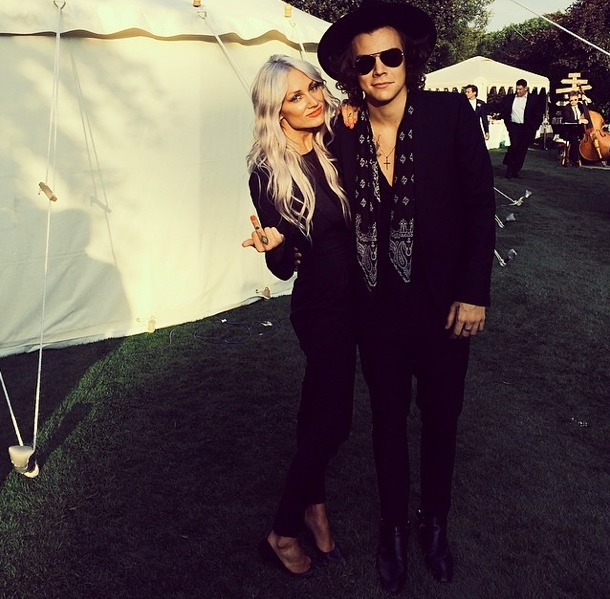 Lou teasdale and harry styles