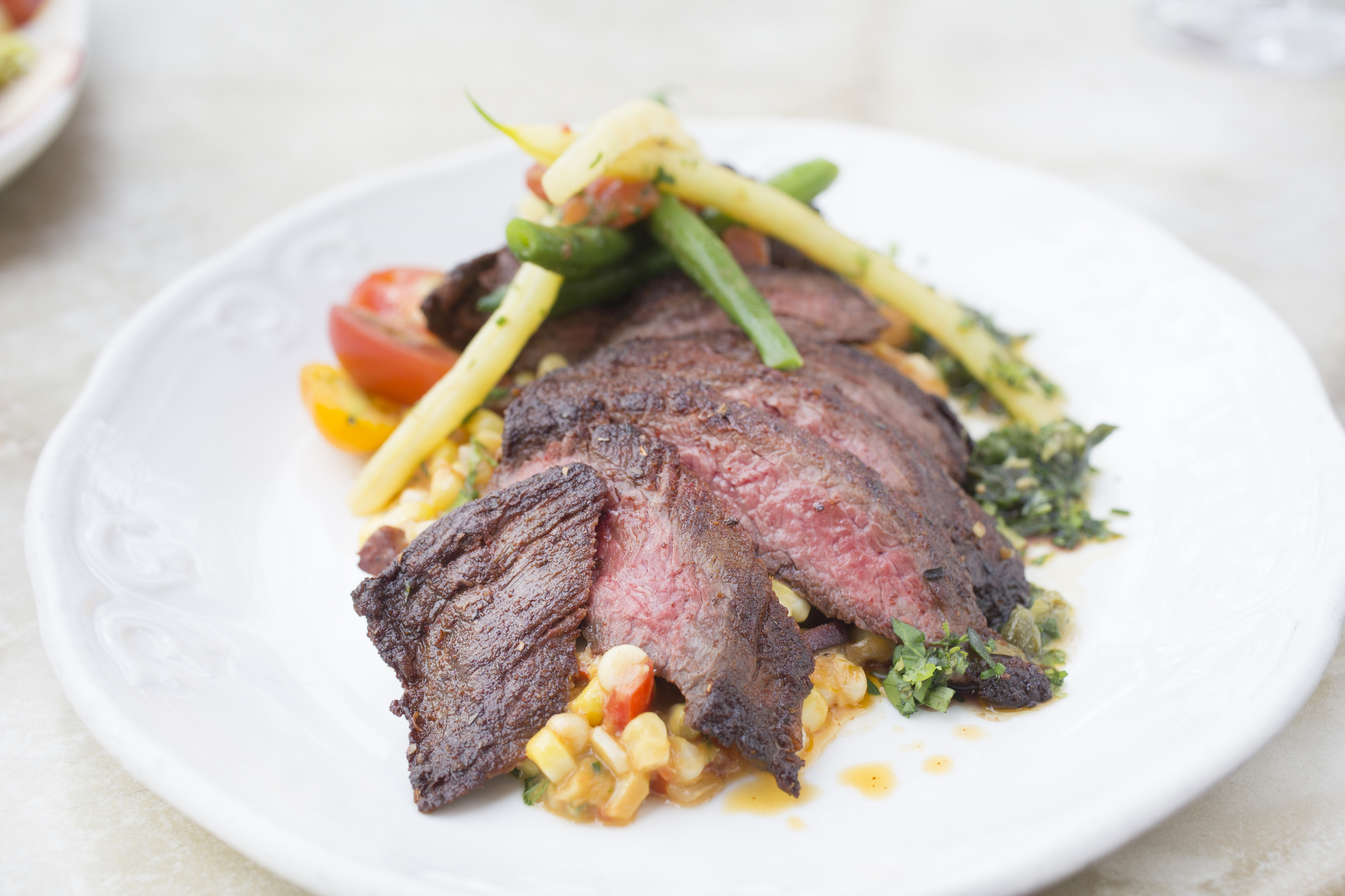 Spice-Rubbed Grilled Skirt Steak Recipe — Dishmaps