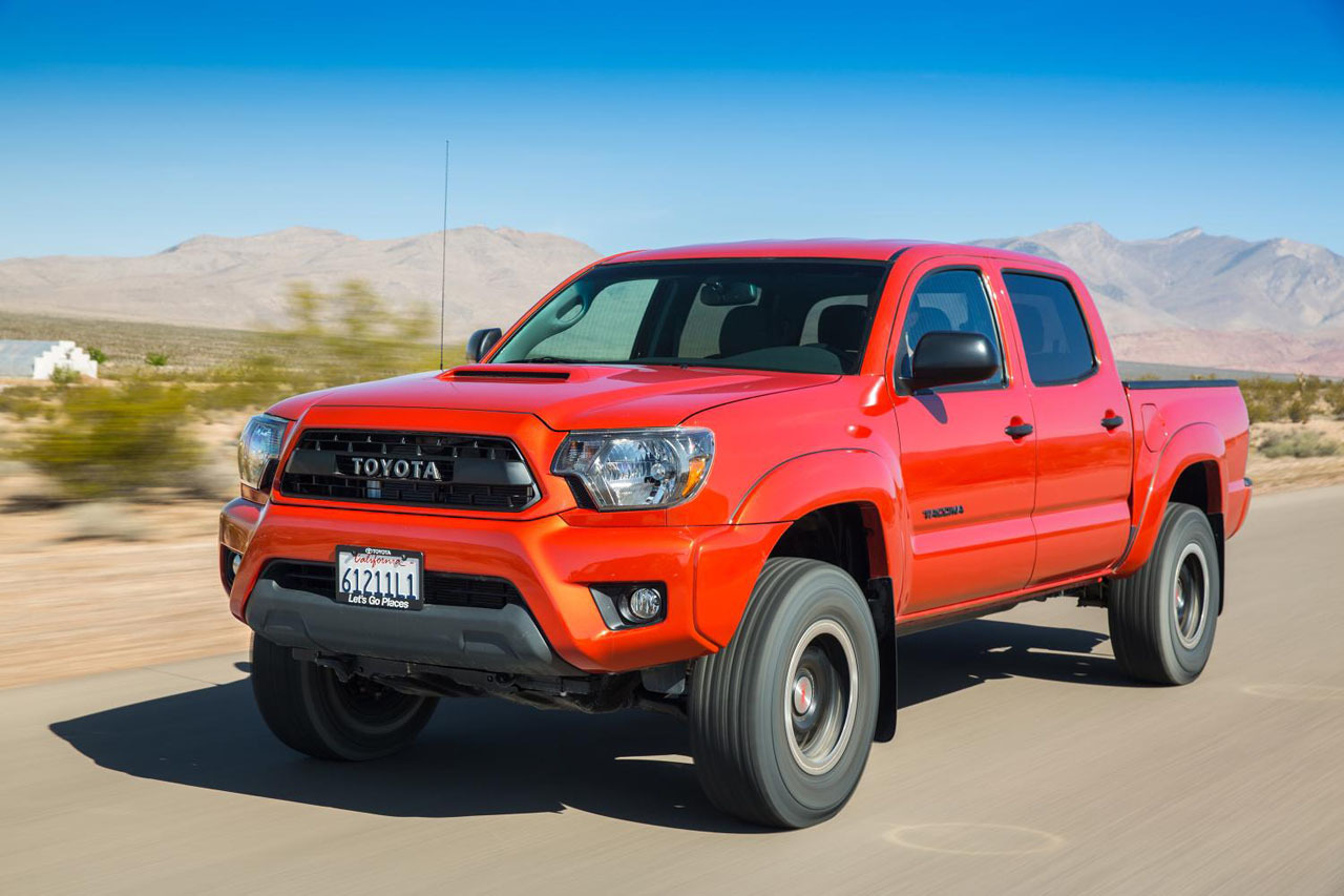 2015 Toyota Trd Pro Series Tundra Tacoma And 4runner
