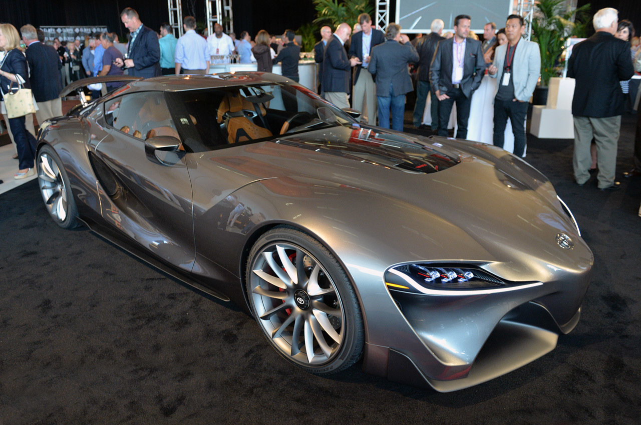 Toyota Ft 1 Graphite Monterey 2014 Photo Gallery Autoblog