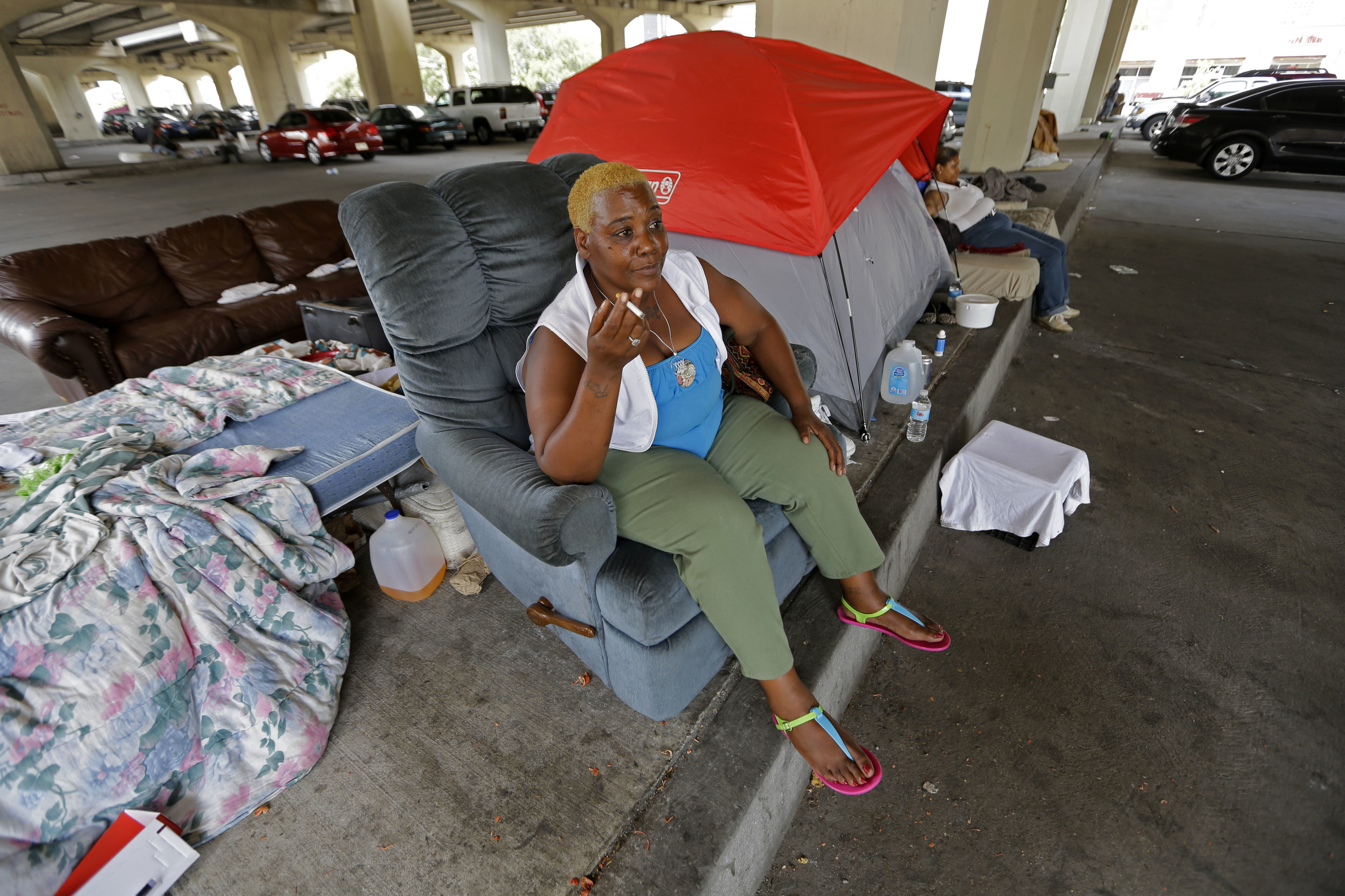 Report: Far fewer homeless in New Orleans than after Katrina