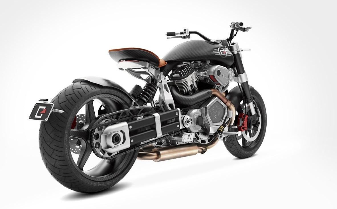 Confederate Motorcycles X132 Hellcat Speedster Photo ...