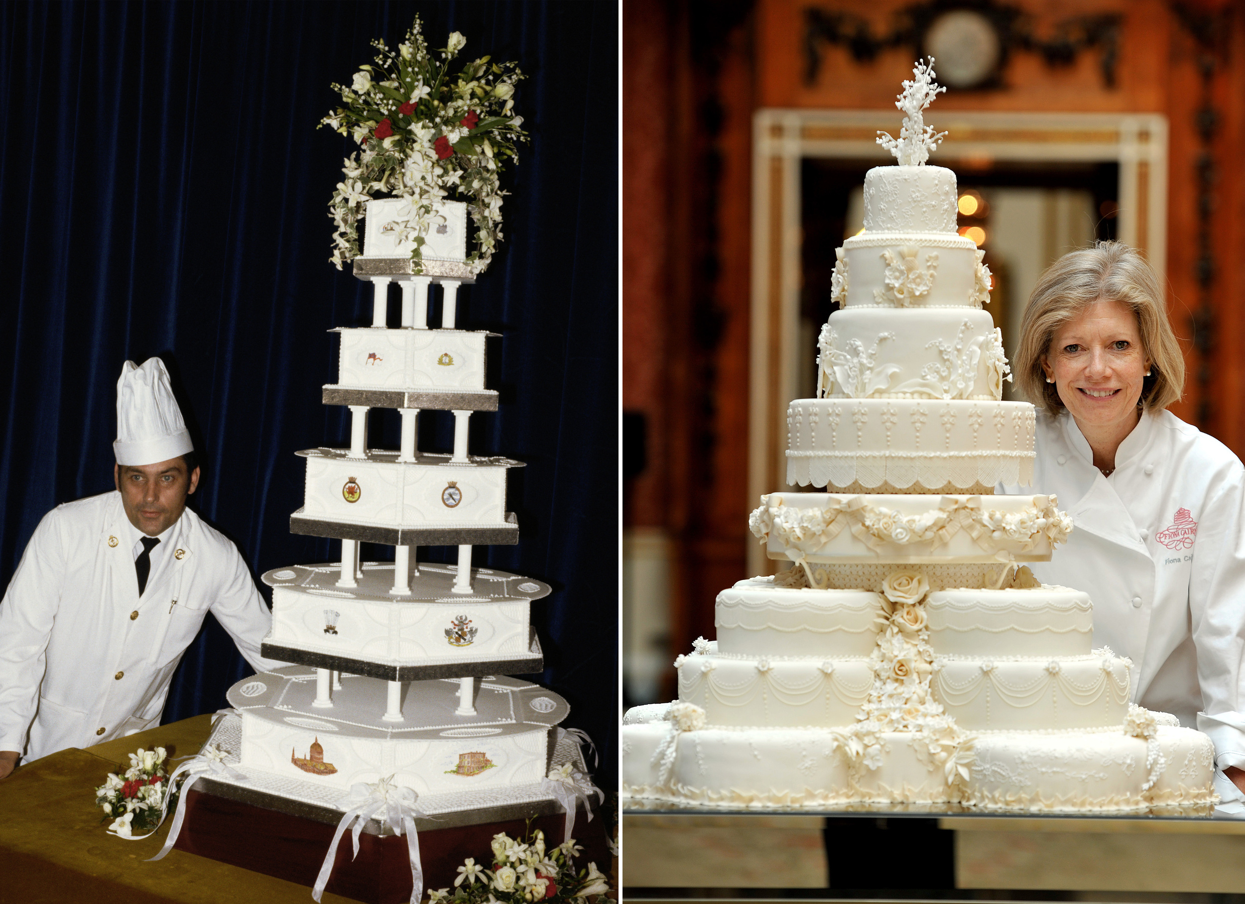 Slice of Princess Diana s wedding cake sold at auction