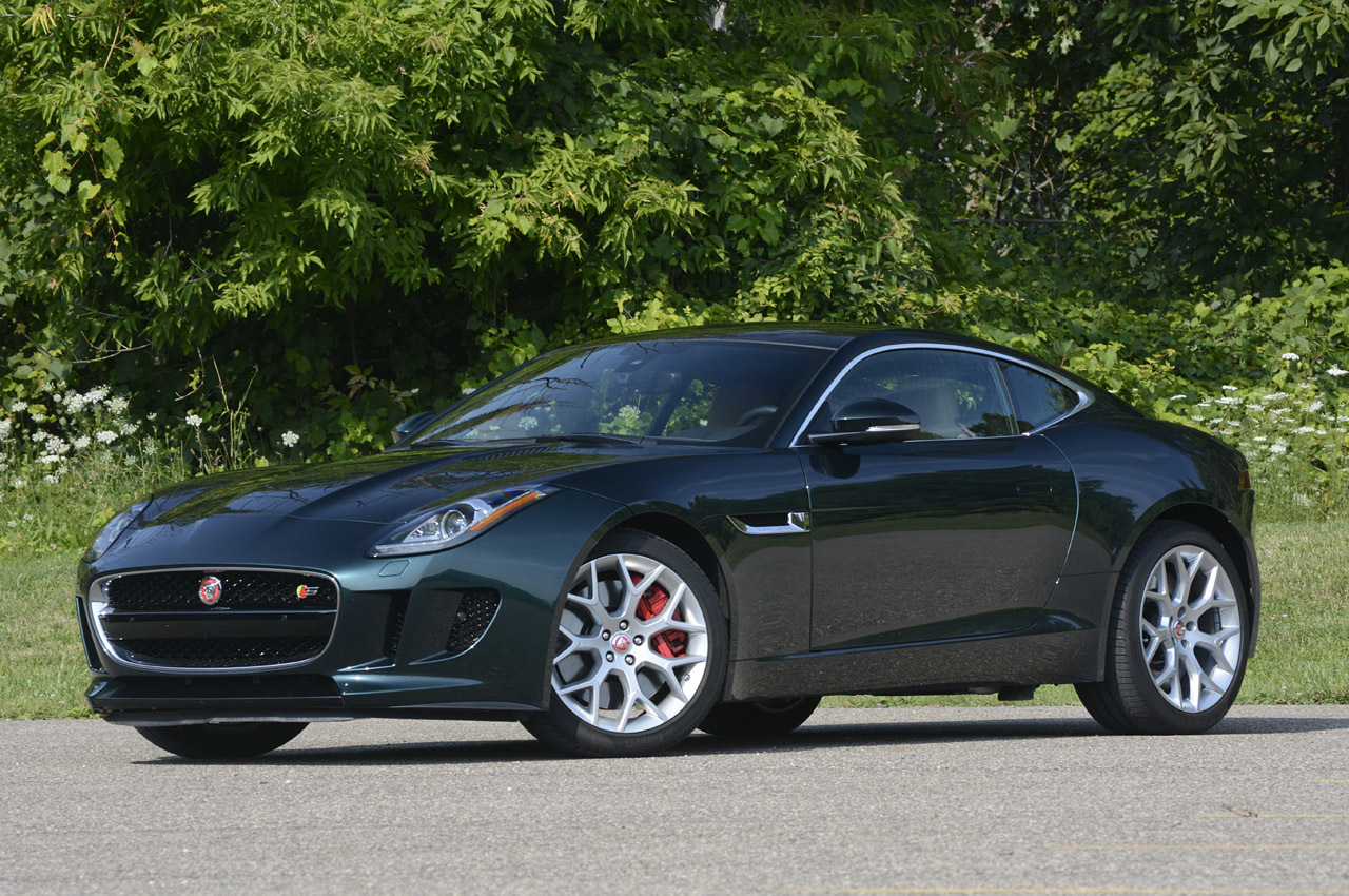 Jaguar f type coupe green - photo#19
