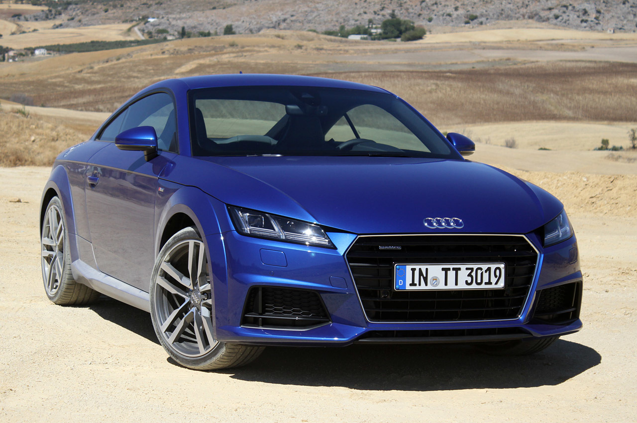 2016 audi tt first drive photo gallery autoblog. Black Bedroom Furniture Sets. Home Design Ideas