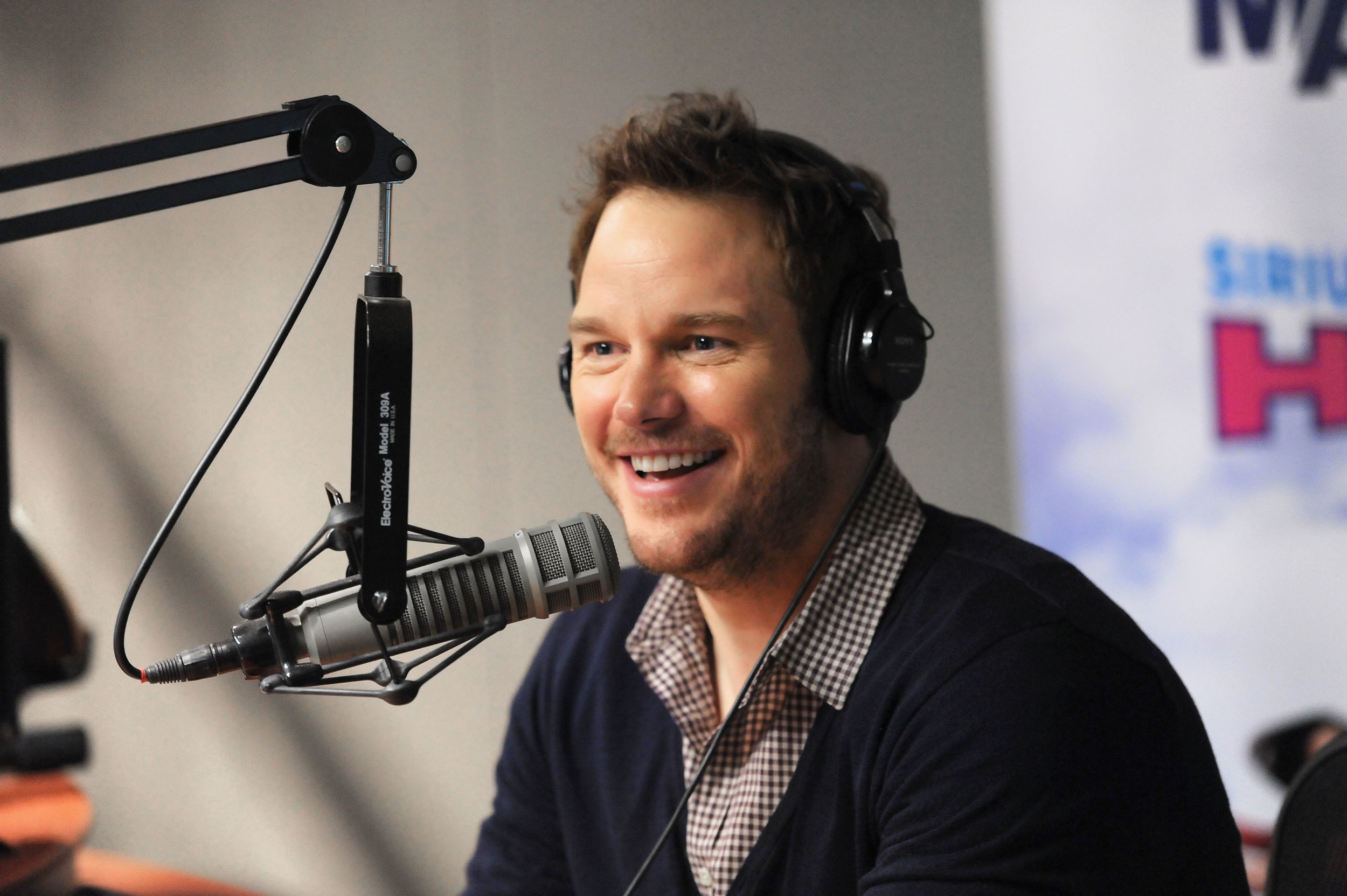 Celebrities Visit SiriusXM Studios - July 30, 2014