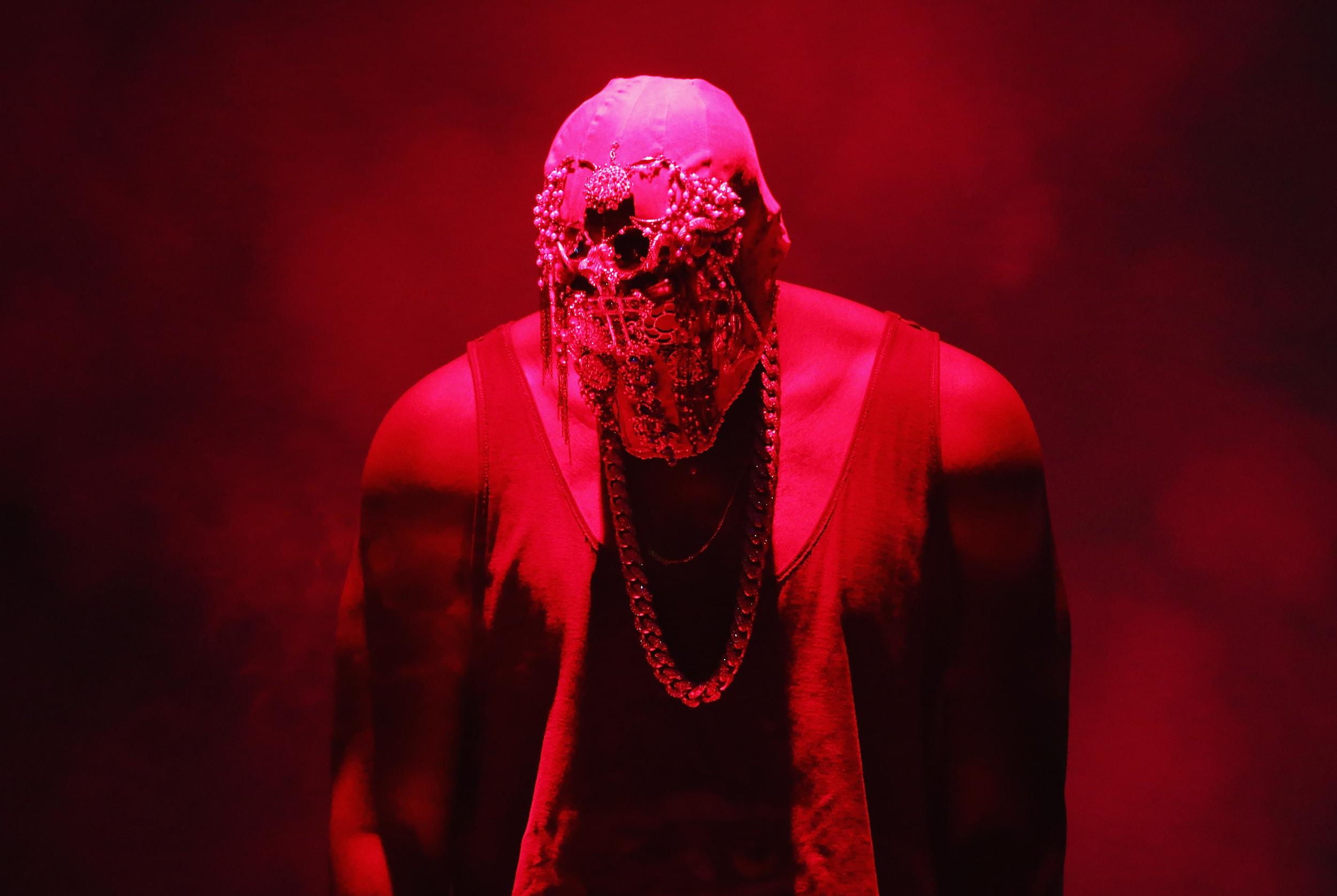 Kanye West Asks Man In A Wheelchair To Stand During His ... Kanye West Yeezus Concert