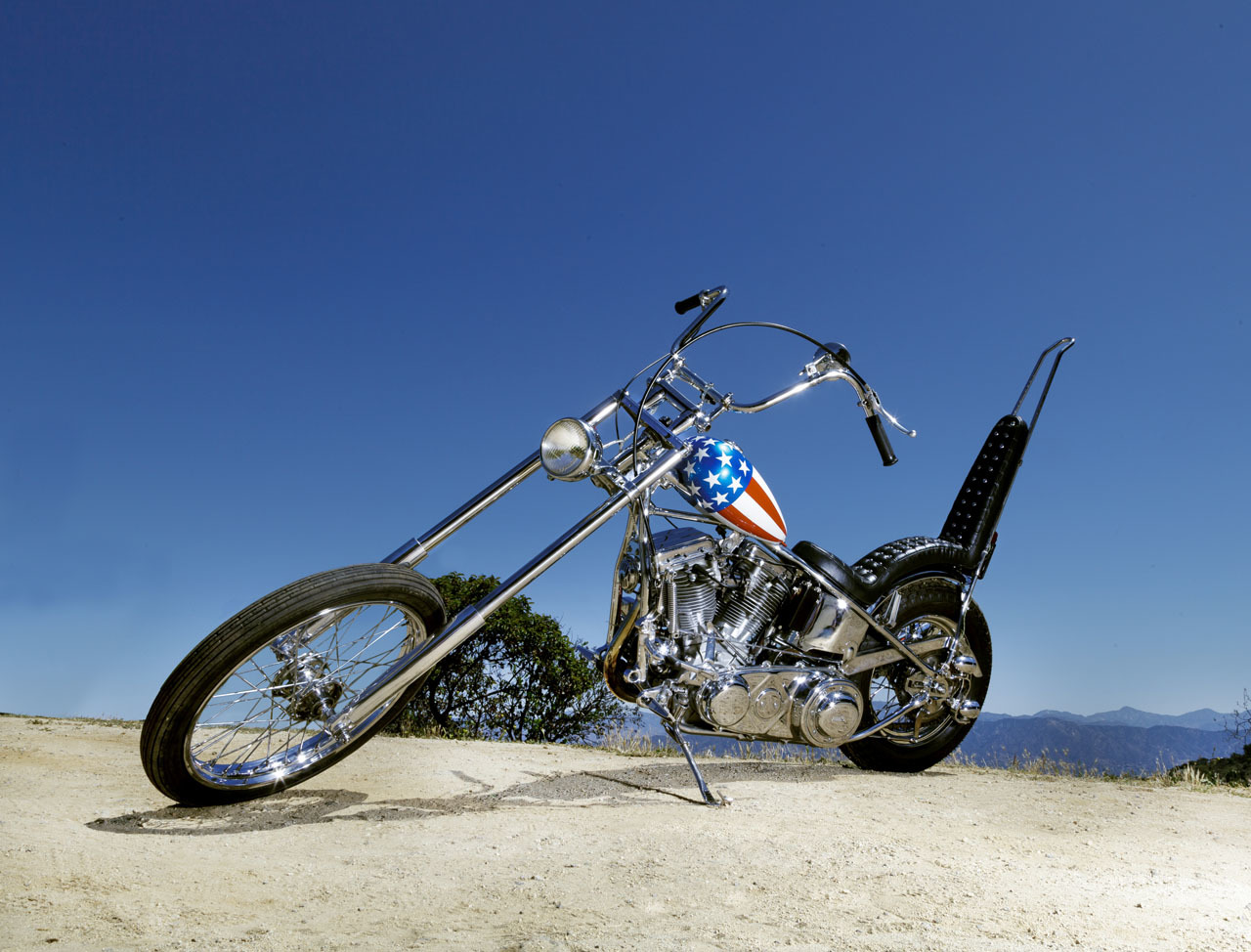 easy rider captain america motorcycle auction photo