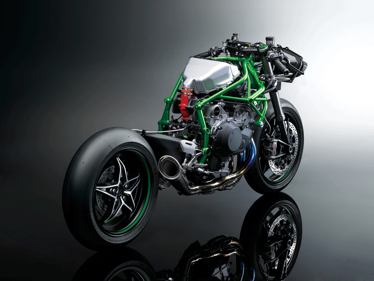Kawasaki Ninja H2R Photo Gallery
