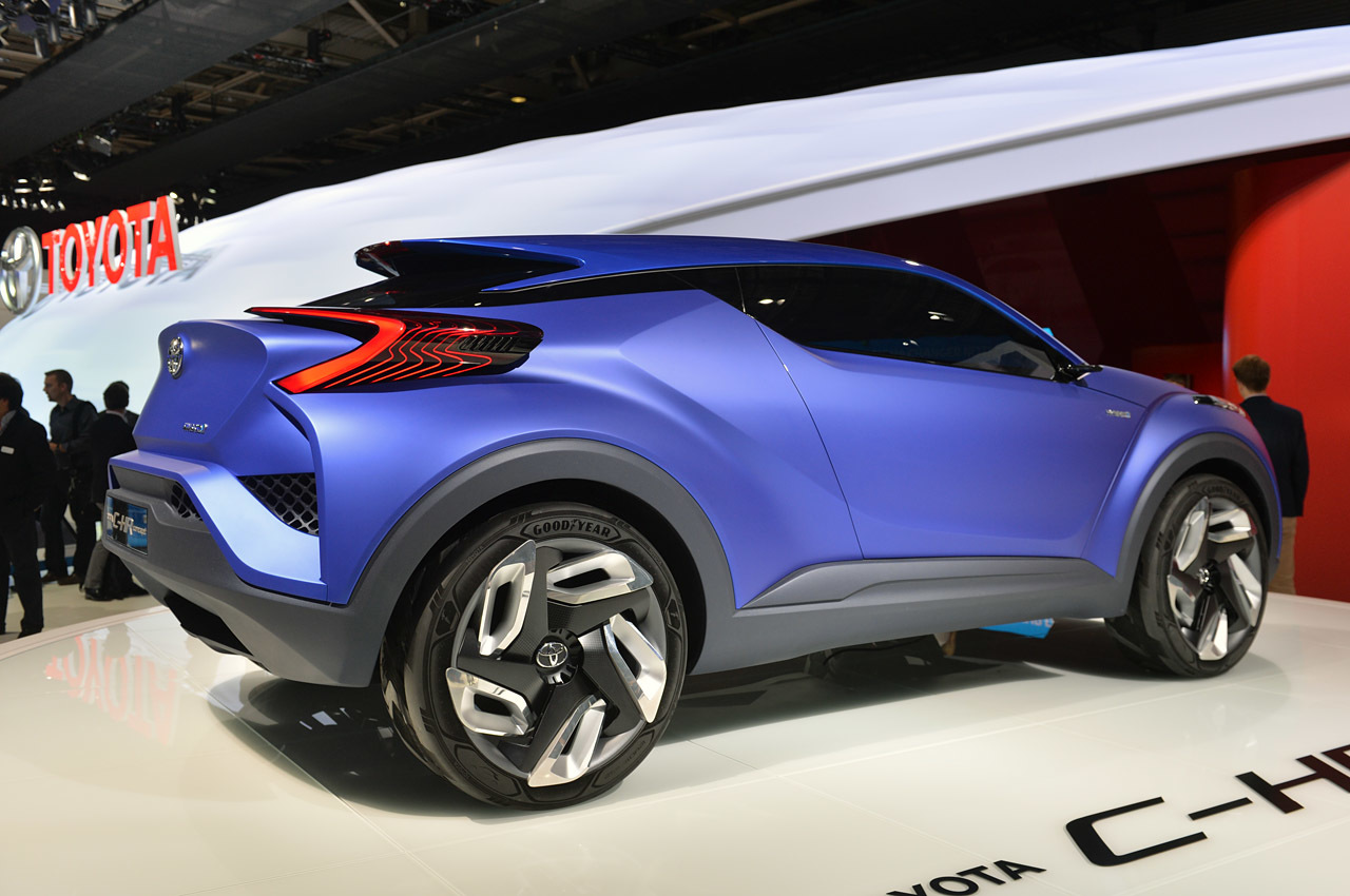 1280 x 850 jpeg 246kB, Toyota C-HR Concept: Paris 2014 Photo Gallery ...