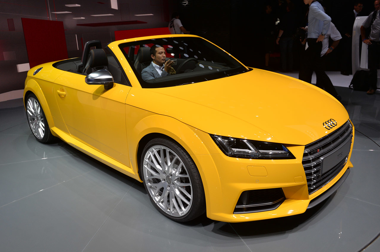 2015 audi tts roadster paris 2014 photo gallery autoblog. Black Bedroom Furniture Sets. Home Design Ideas