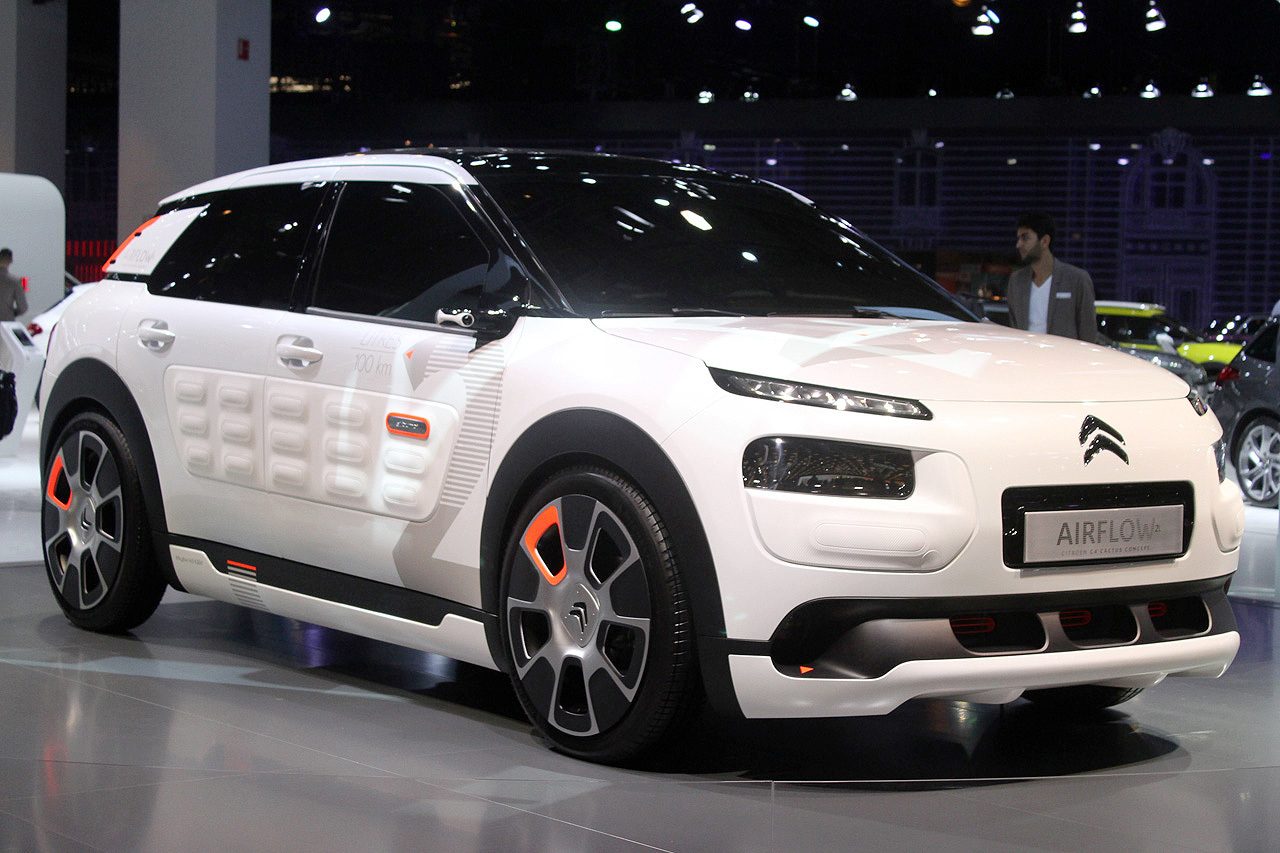 citroen c4 cactus airflow concept paris 2014 photo gallery autoblog. Black Bedroom Furniture Sets. Home Design Ideas