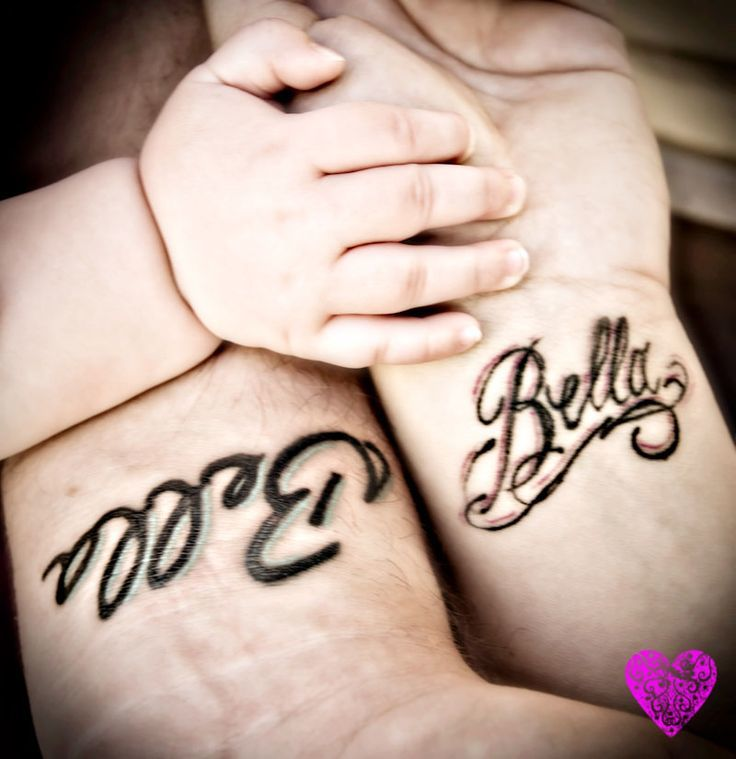 Dad tattoos that melt all our hearts