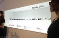 Toshiba prototype is a simpler, lighter Google Glass rival... with a catch