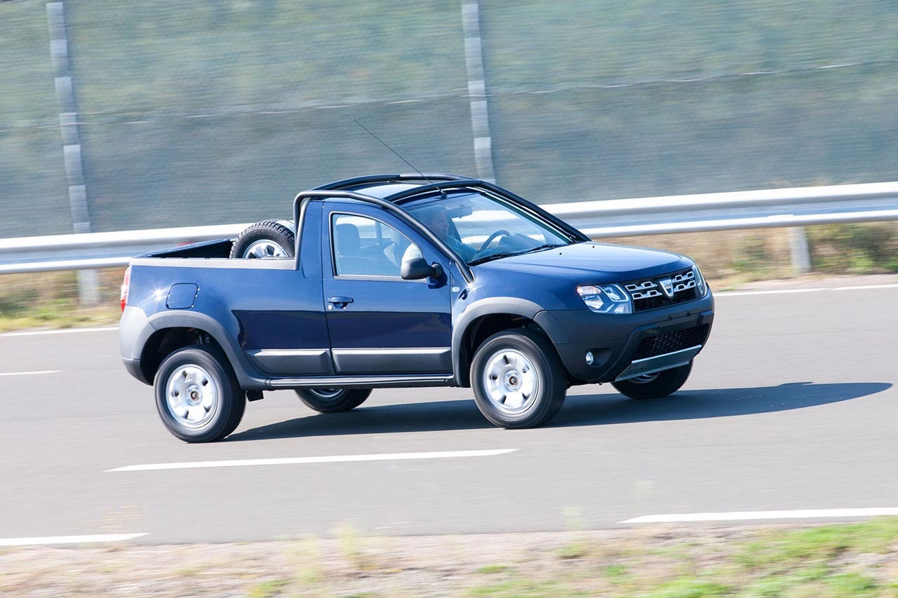 dacia duster pick up photo gallery autoblog canada. Black Bedroom Furniture Sets. Home Design Ideas