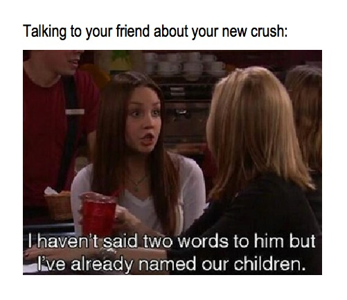 How to hold a conversation with your crush