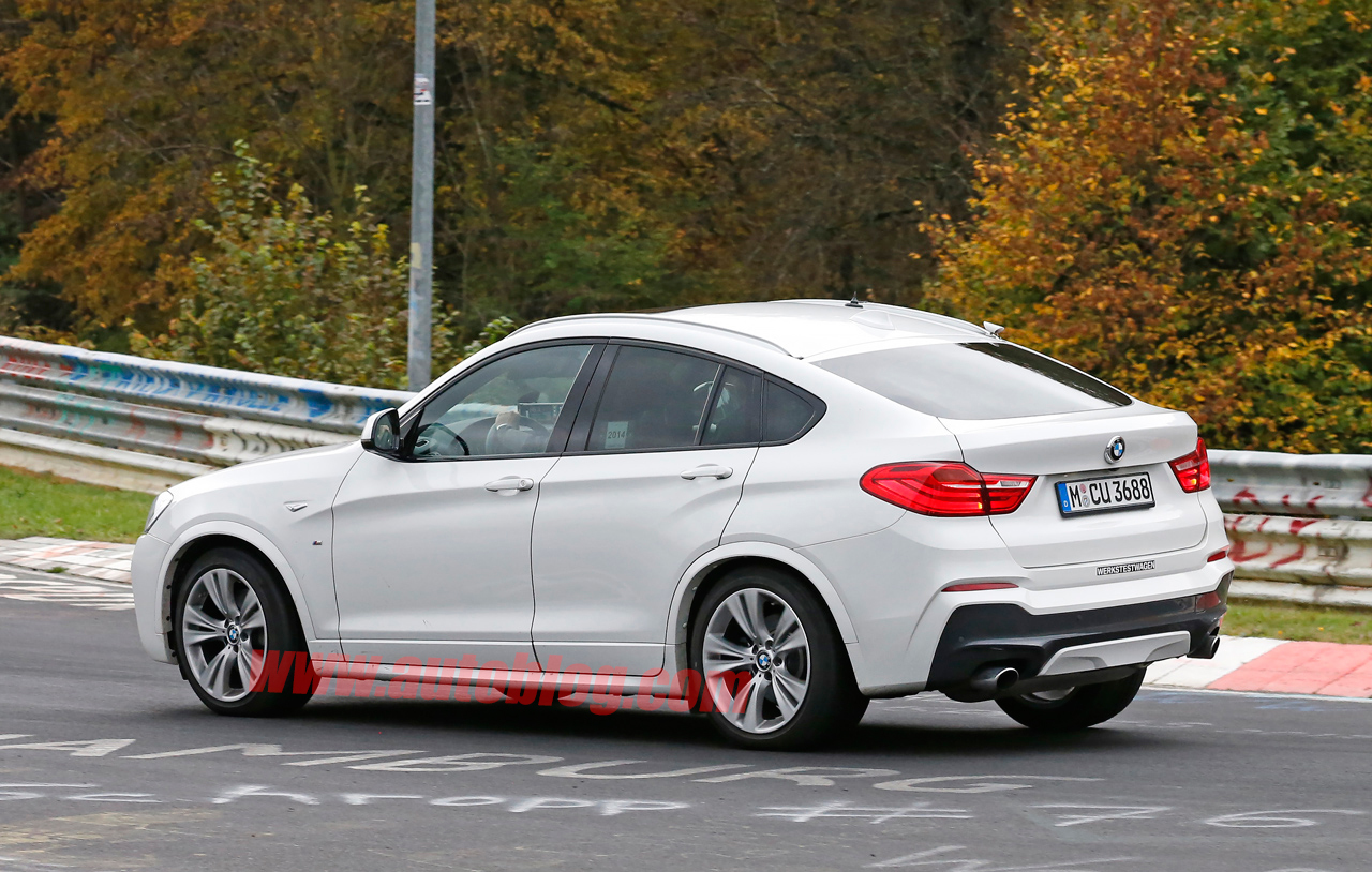 bmw x4 m40i spy shots photo gallery autoblog. Black Bedroom Furniture Sets. Home Design Ideas
