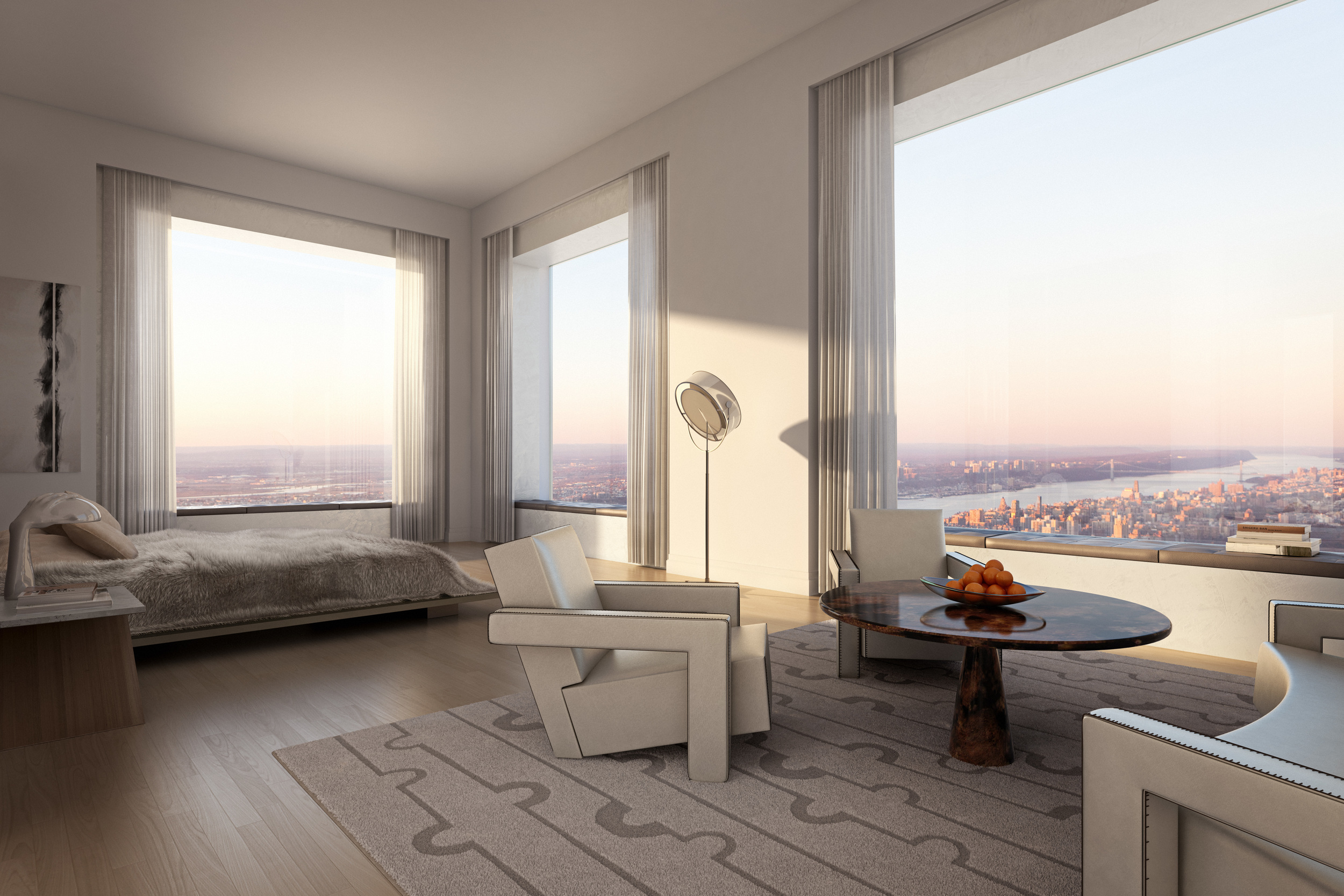 New york apartment building is tallest in the americas - The giant slide apartament ...