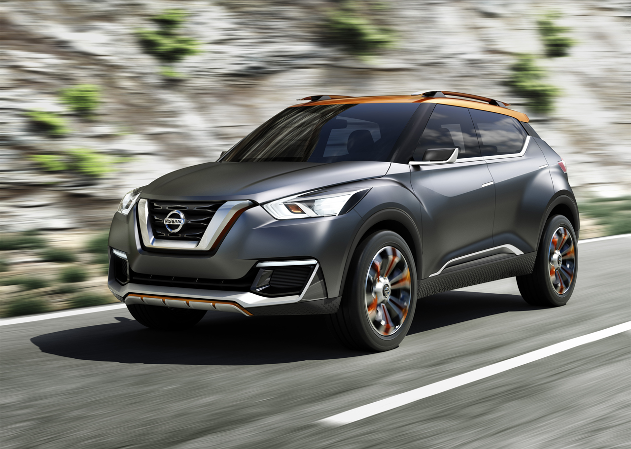 nissan kicks concept photo gallery autoblog. Black Bedroom Furniture Sets. Home Design Ideas