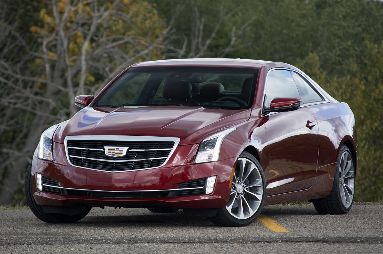 2015 cadillac ats coupe review photo gallery autoblog. Black Bedroom Furniture Sets. Home Design Ideas