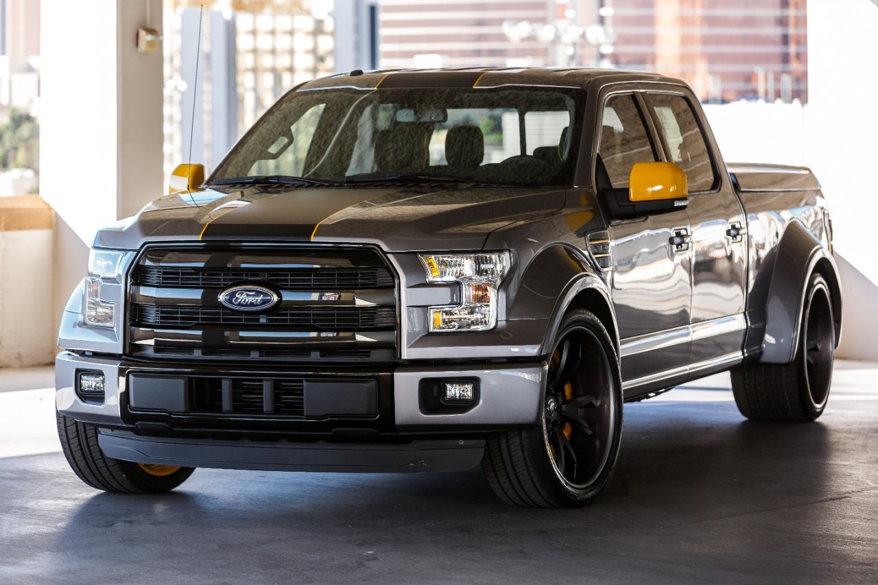 Ford F Lowered