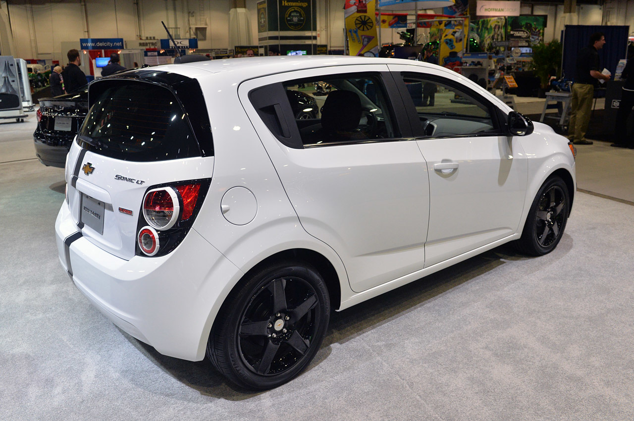 Chevrolet Sonic Accessories Concept: SEMA 2014 Photo Gallery - Autoblog