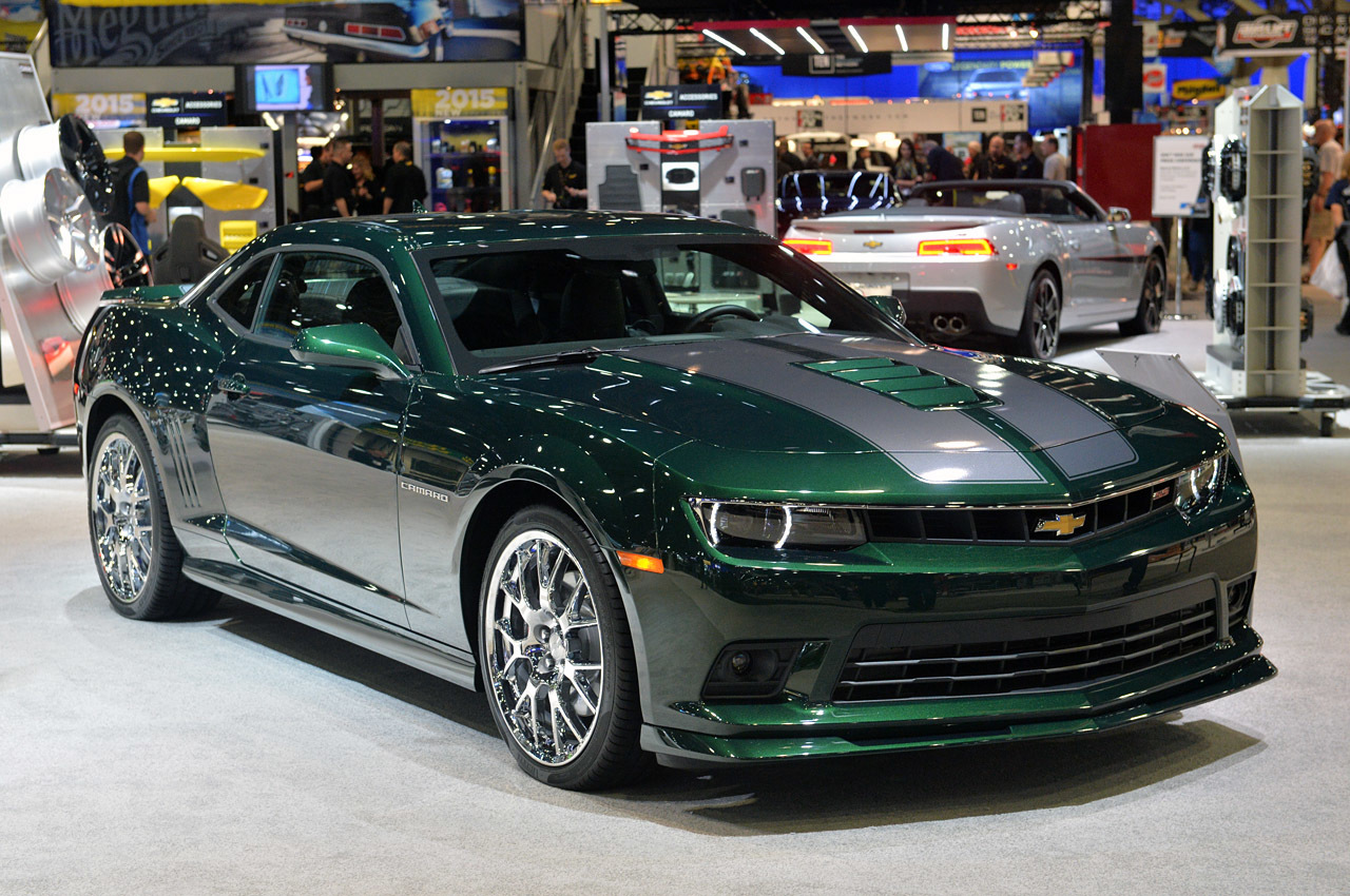 2015 Chevrolet Camaro SS Special Edition: SEMA 2014 Photo Gallery