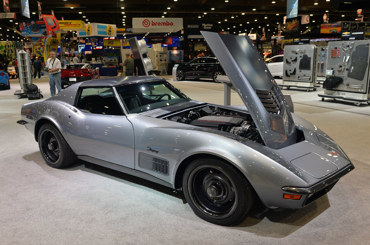 1971 Chevrolet Corvette Jimmie Johnson Concept Sema 2014