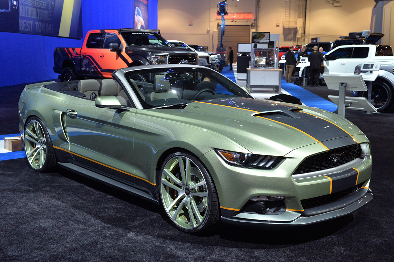 ford mustang 8 october 2014 ford readying dozen mustang models for