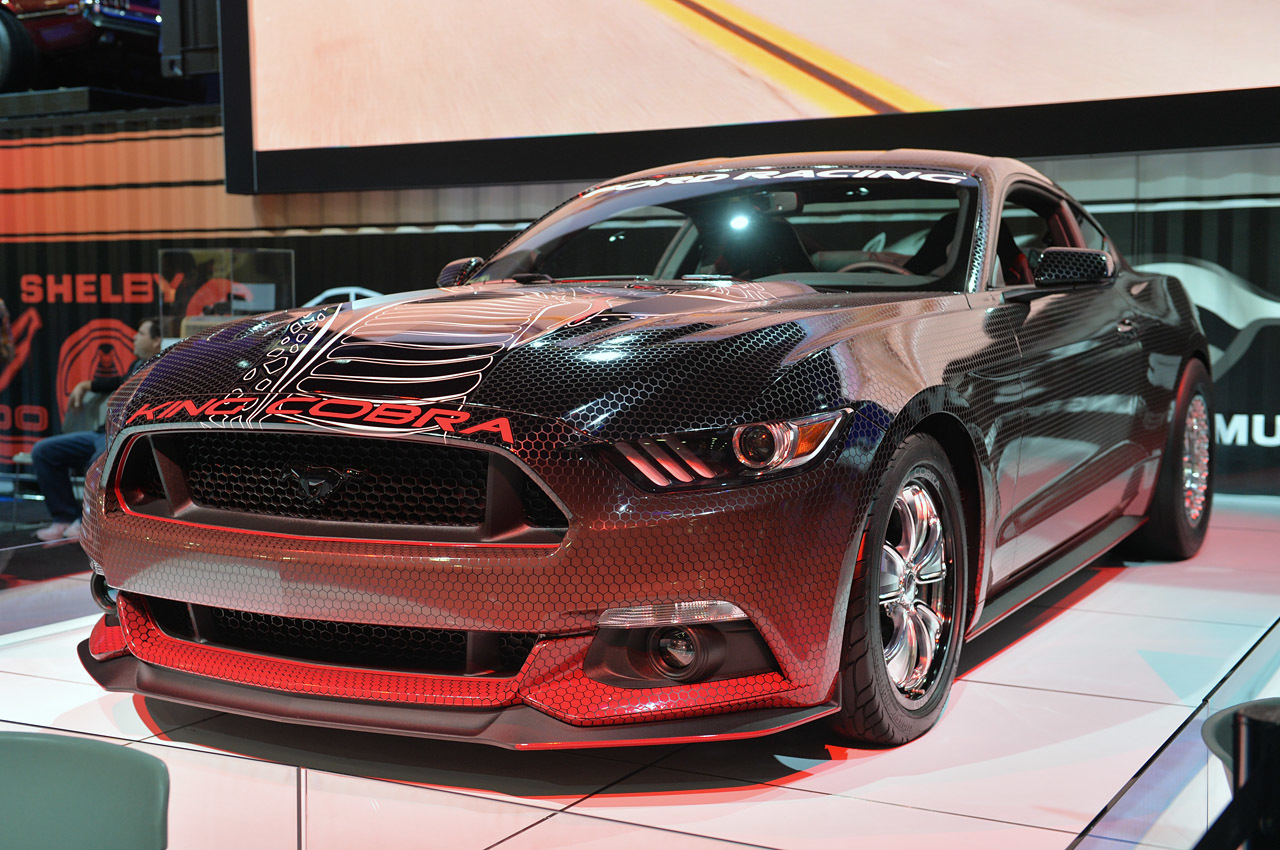 sema show 2014 ford mustang king cobra concept dark cars wallpapers. Black Bedroom Furniture Sets. Home Design Ideas