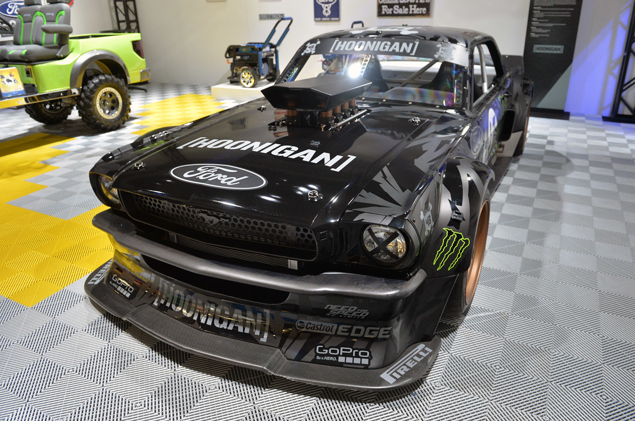sema show 2014 ford mustang 1965 hoonicorn by rtr dark cars wallpapers. Black Bedroom Furniture Sets. Home Design Ideas