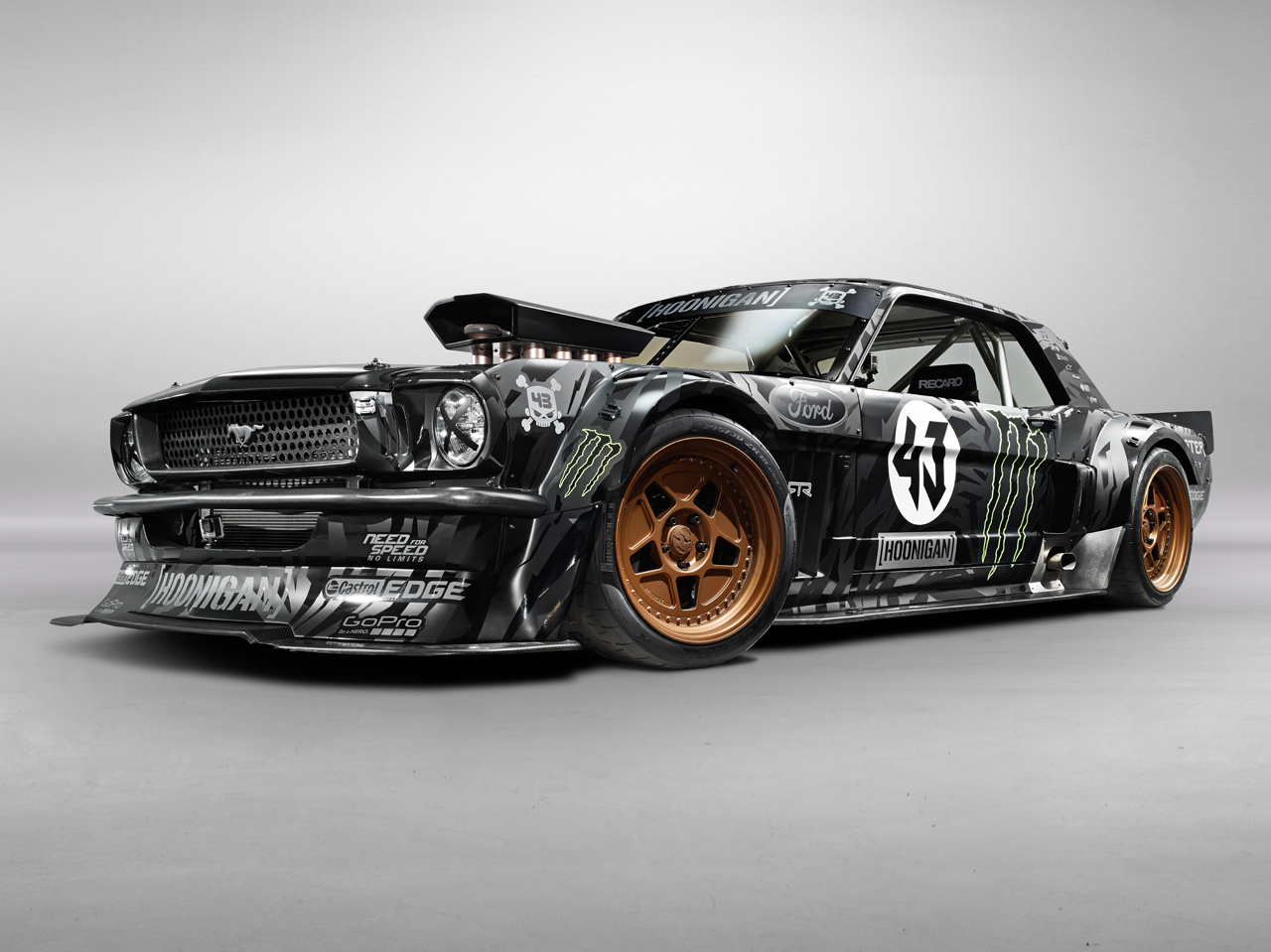 ken block 39 s 1965 ford mustang hoonicorn rtr photo gallery autoblog. Black Bedroom Furniture Sets. Home Design Ideas