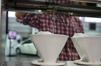 60 seconds with a robotic pour-over coffee machine