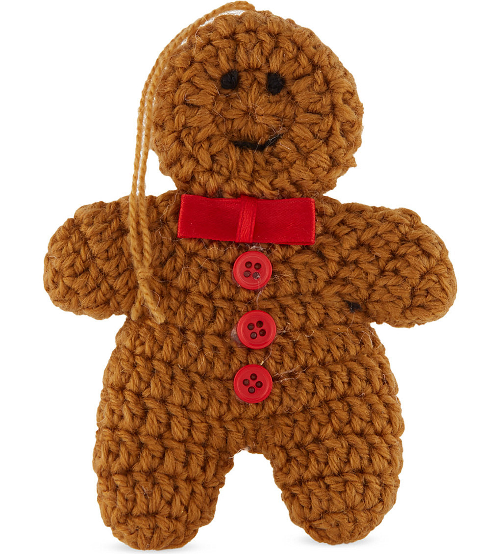 Gingerbread Man Jumper Knitting Pattern : Knitted Christmas decorations are a thing now - MyDaily UK