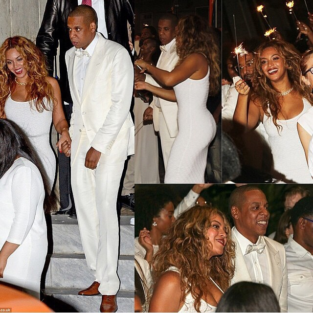 Solange Broke Out In Hives On Her Wedding Day Beyonce And Jay Z