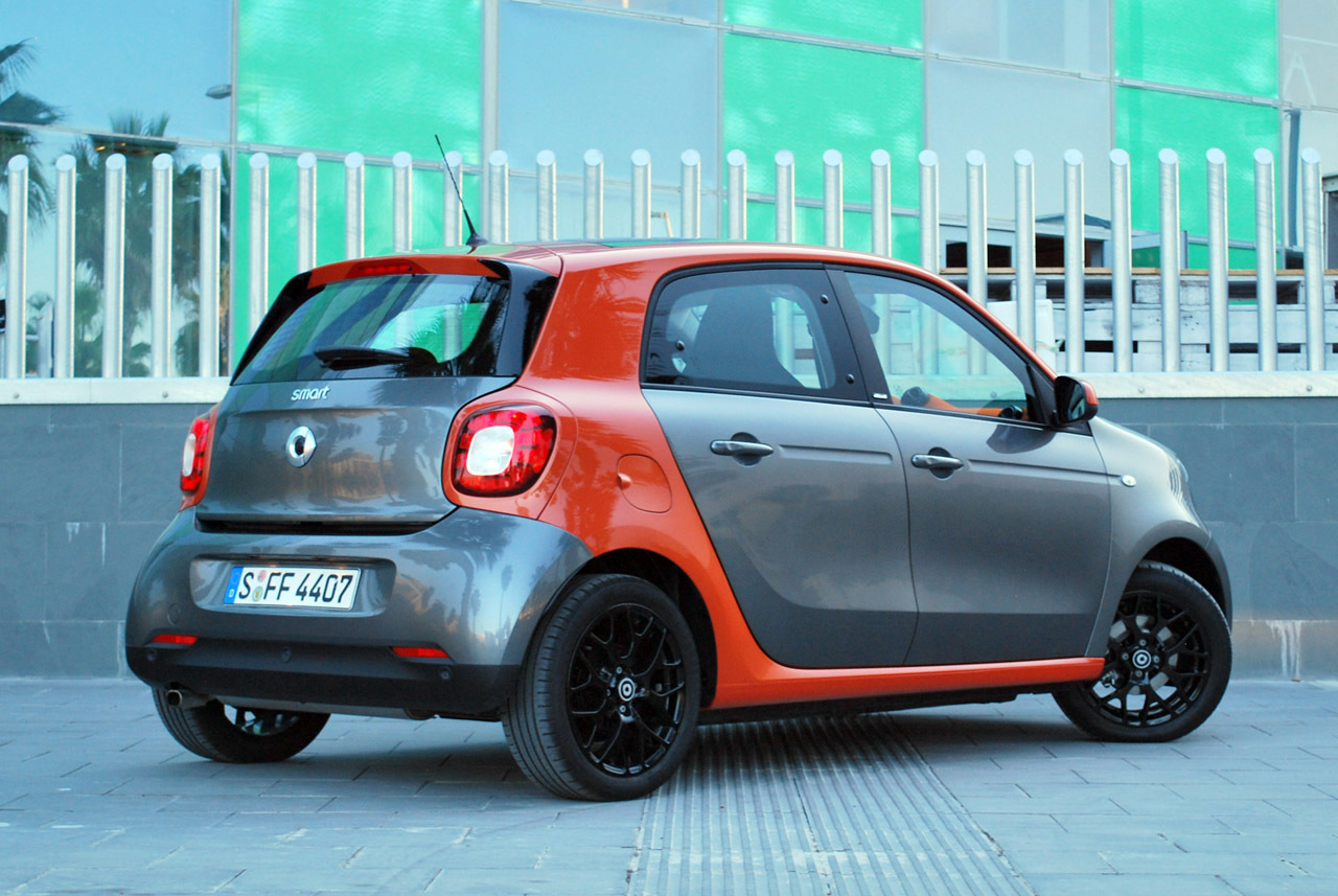 2016 Smart Forfour: Quick Spin Photo Gallery - Autoblog