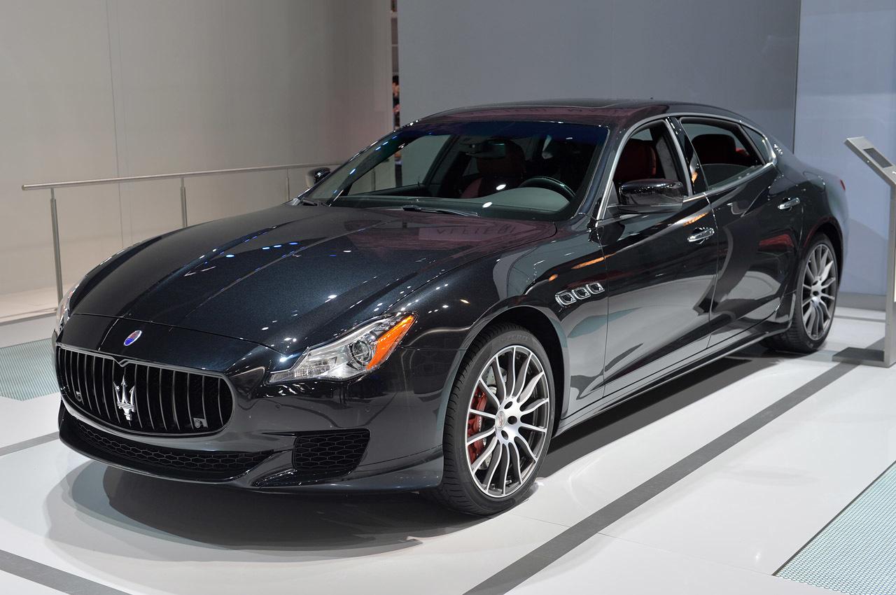 2015 maserati quattroporte gts la 2014 photo gallery. Black Bedroom Furniture Sets. Home Design Ideas