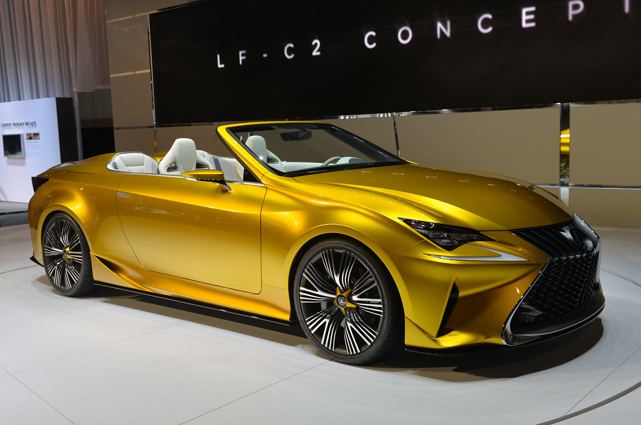 Lexus Lf C2 Concept La 2014 Photo Gallery Autoblog