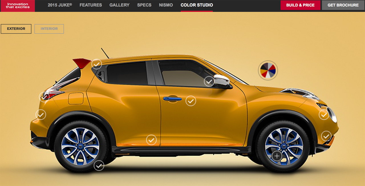 2015 nissan juke color studio photo gallery autoblog. Black Bedroom Furniture Sets. Home Design Ideas
